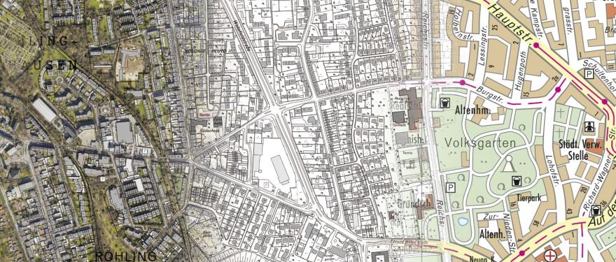 Herne Karte Stadtteile.Stadt Herne Geoportal